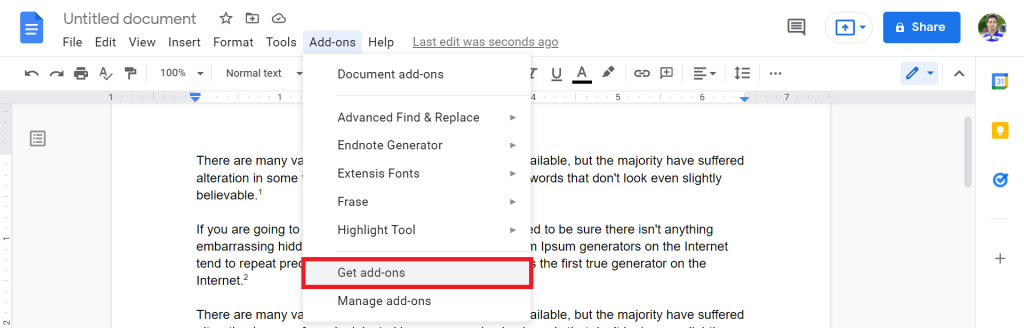 6 How To Do Endnotes In Google Docs