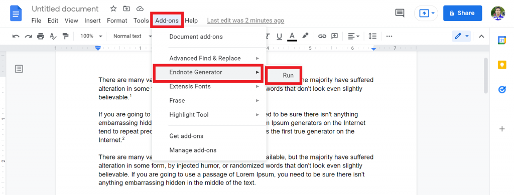 9 How To Do Endnotes In Google Docs